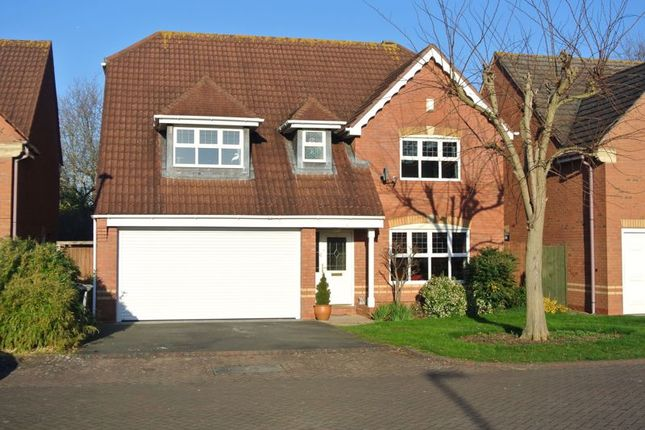 Thumbnail Detached house for sale in Braeburn Close, Longlevens, Gloucester