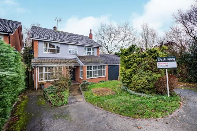 Thumbnail Detached house for sale in Home Close, Bubbenhall, Coventry, West Midlands