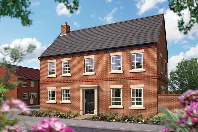 "Thumbnail Detached house for sale in ""The Tibberton"" at Harbury Lane, Heathcote, Warwick"