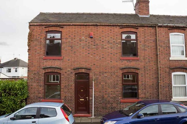 Thumbnail End terrace house to rent in Stoke Old Road, Hartshill, Stoke-On-Trent