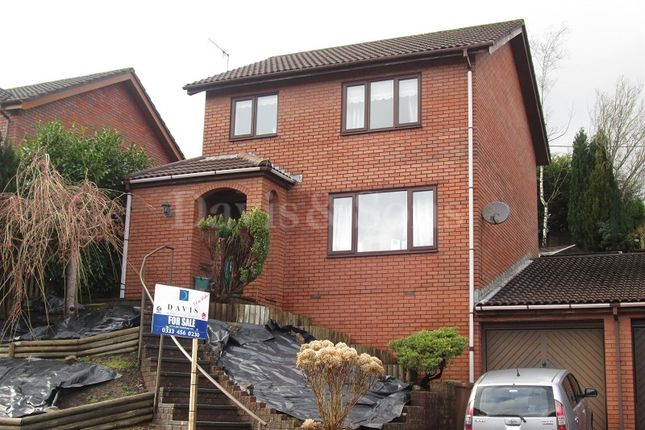Thumbnail Detached house for sale in Beechwood Close, Newbridge, Newport.