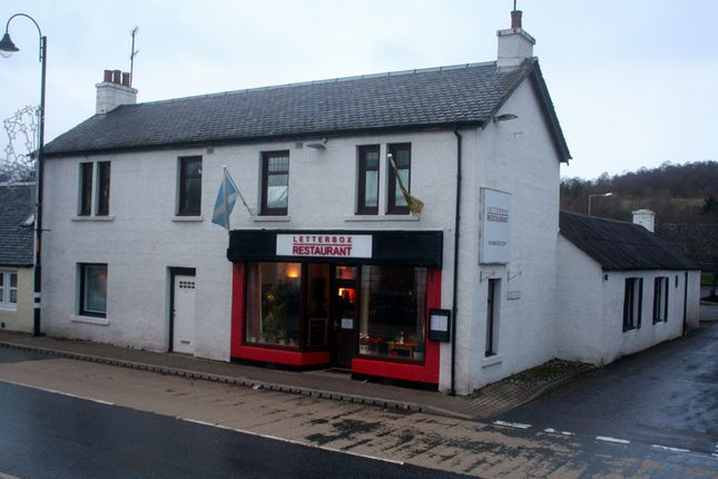 Thumbnail Restaurant/cafe to let in Letterbox Restaurant, Main Street, Newtonmore