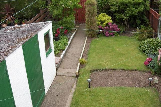 Rear Garden of Etive Place, Glenrothes KY6