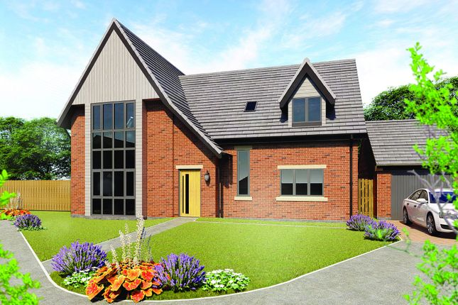 Thumbnail Detached house for sale in Hawthorn Close, Woodborough, Nottingham