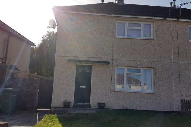 Thumbnail Semi-detached house to rent in Pearson Crescent, Glyncoch, Pontypridd