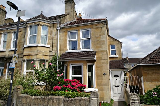 Thumbnail End terrace house for sale in First Avenue, Oldfield Park, Bath