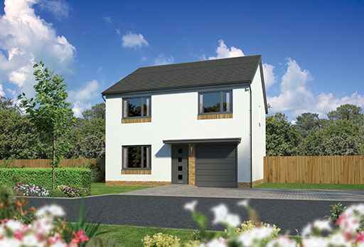 "Thumbnail Detached house for sale in ""Denewood"" at Kingswells, Aberdeen"