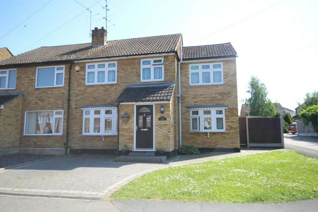 Thumbnail Semi-detached house for sale in Meadgate Avenue, Great Baddow, Chelmsford, Essex