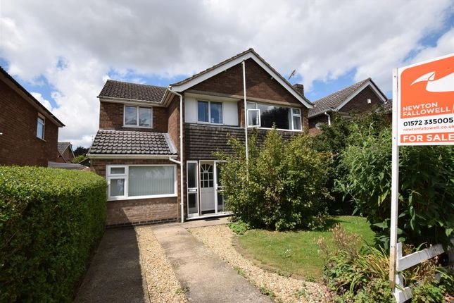 Thumbnail Detached house for sale in Burley Road, Cottesmore, Rutland