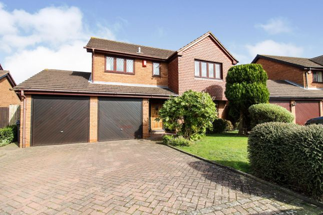 Thumbnail Detached house for sale in Sherratt Close, Sutton Coldfield