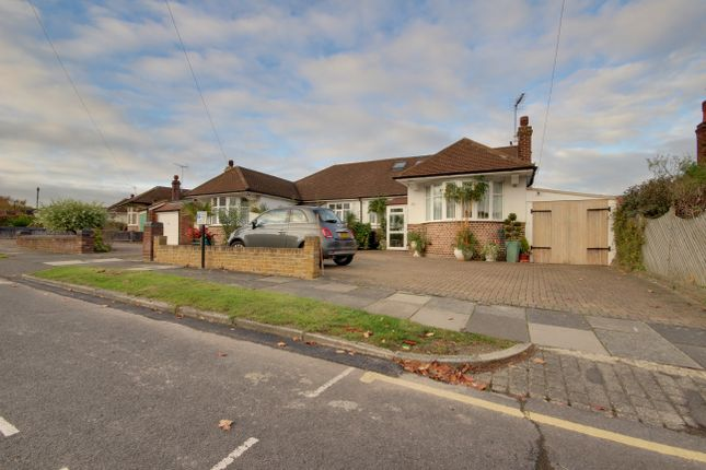 Thumbnail Semi-detached bungalow for sale in Cranleigh Gardens, Grange Park