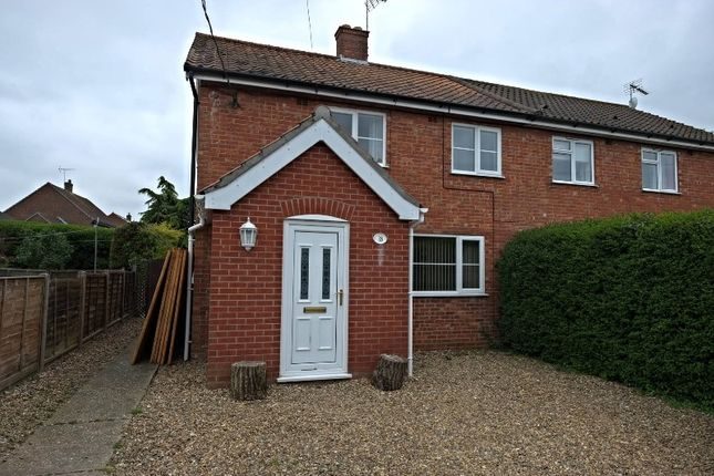 Thumbnail Semi-detached house for sale in Festival Road, Billingford, Dereham