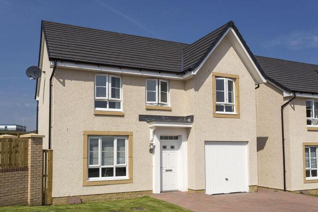 "Thumbnail Detached house for sale in ""Craigievar"" at Woodlands Grove, Lower Bathville, Armadale, Bathgate"