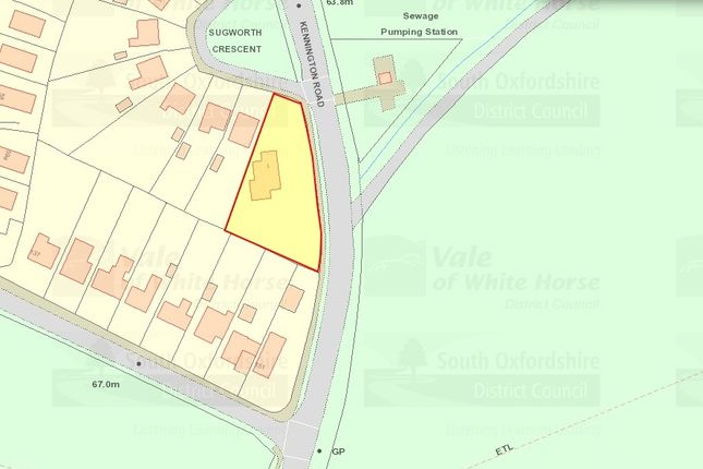 Thumbnail Land for sale in Sugworth Crescent, Radley, Abingdon