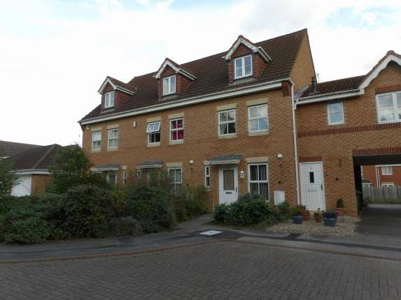 Thumbnail Terraced house for sale in Marshall Close, Thorpe Astley, Braunstone, Leicester