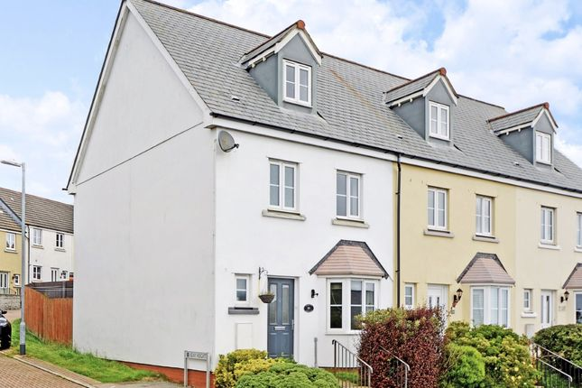 Thumbnail End terrace house to rent in Lewis Way, St Austell