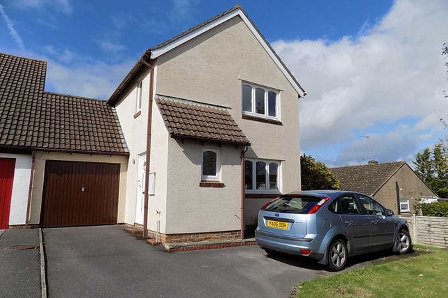 Thumbnail Detached house to rent in Deane Way, Tatworth, Chard