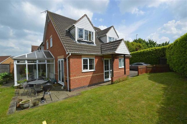 Thumbnail Link-detached house for sale in Owen Close, Thorpe Astley, Braunstone, Leicester