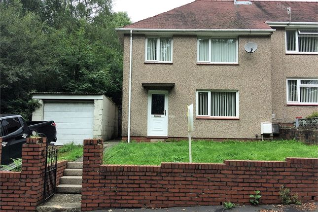 Thumbnail Semi-detached house to rent in Heol Y Fagwr, Clydach, Swansea, Swansea.