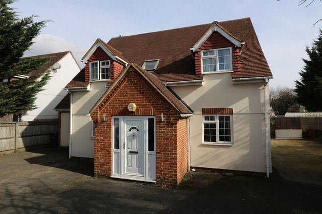 Thumbnail Detached house to rent in Vicarage Road, Egham