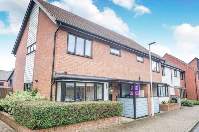 Thumbnail End terrace house for sale in Hawley Drive, West Malling