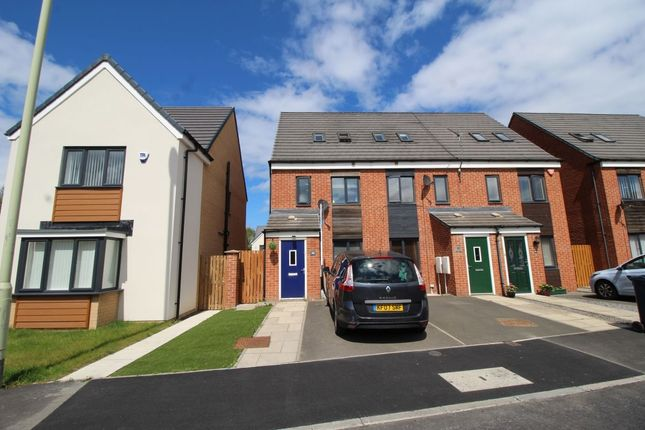 Thumbnail Terraced house to rent in St. Aloysius View, Hebburn