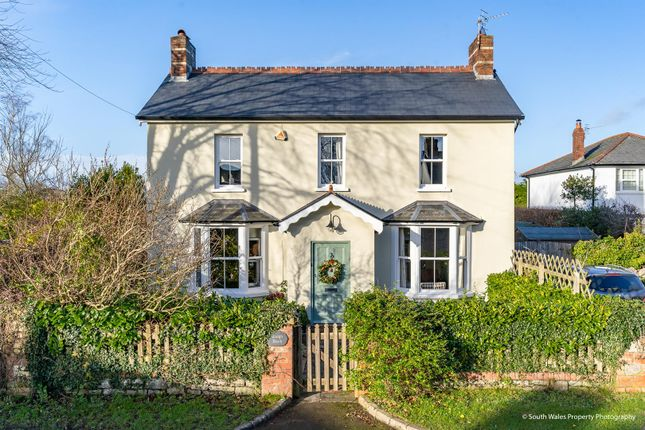 Thumbnail Detached house for sale in St. Nicholas, Cardiff