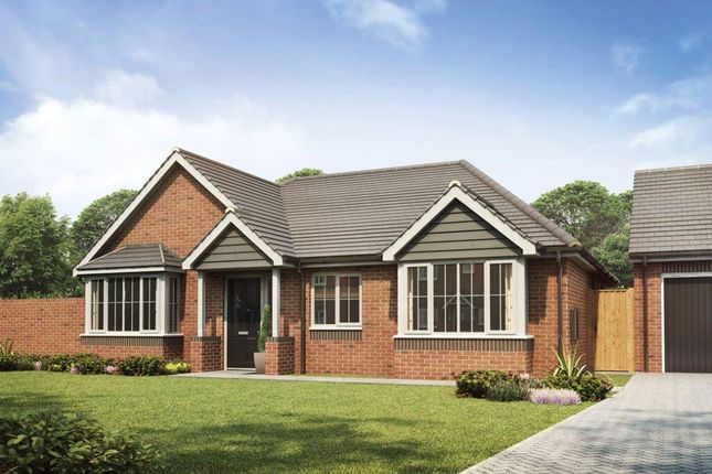 Thumbnail Detached bungalow for sale in Creswell Manor, Eccleshall Road, Stafford