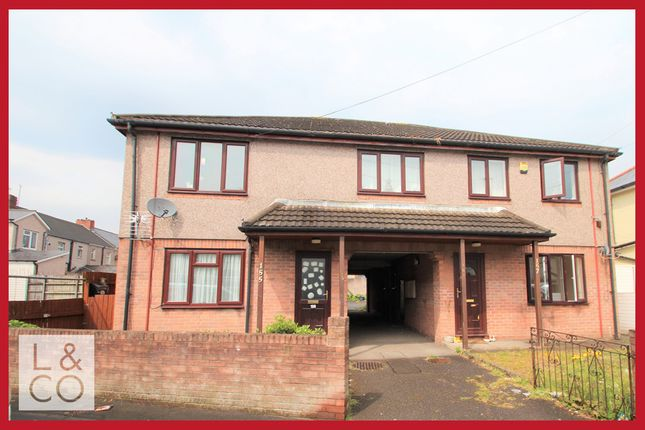 Thumbnail Flat to rent in Conway Road, Newport