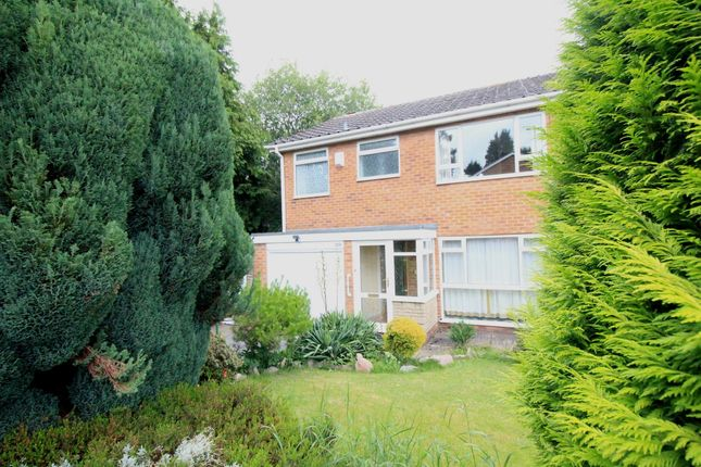 Thumbnail Semi-detached house for sale in Thirlmere Drive, Moseley, Birmingham