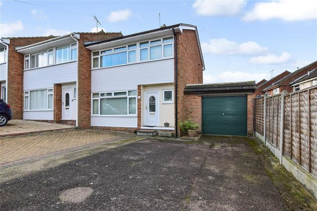 Thumbnail End terrace house for sale in Tern Way, Brentwood, Essex