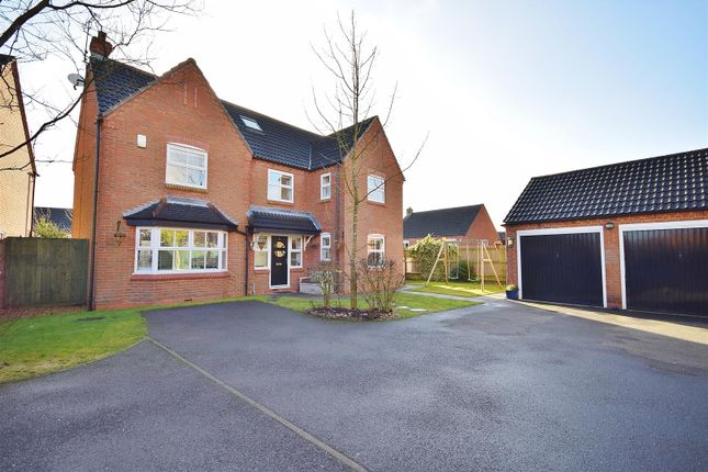 Thumbnail Detached house for sale in Maple Drive, Harlow Wood, Mansfield