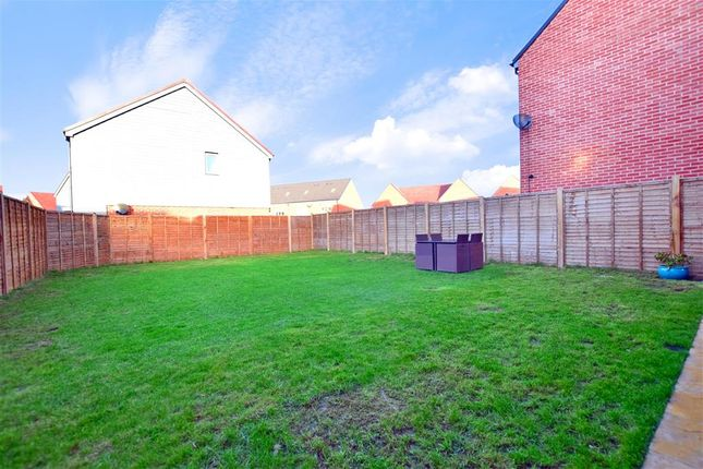 Rear Garden of Faraday Drive, Minster On Sea, Sheerness, Kent ME12