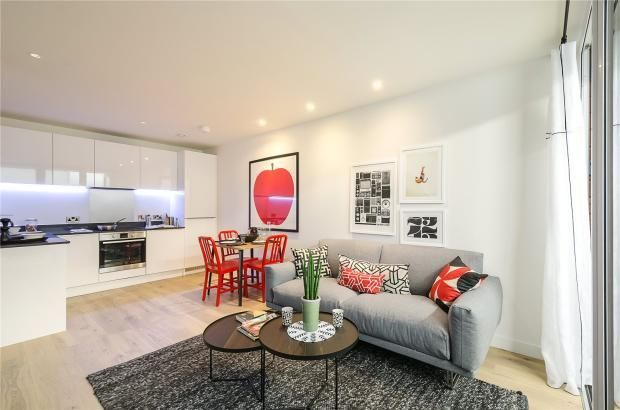 Thumbnail 1 bed flat for sale in The Northern Quarter, Capitol Way, Colindale, London