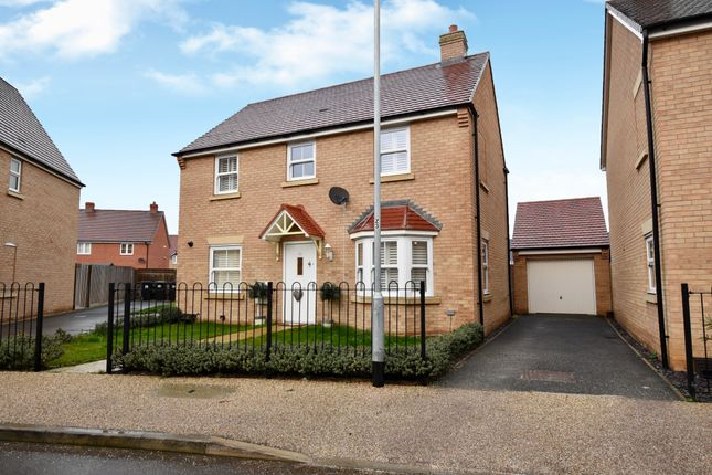 Thumbnail Detached house for sale in Sanger Avenue, Biggleswade