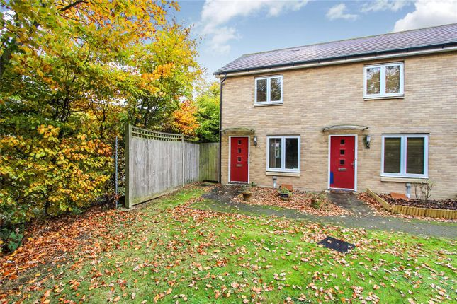 Thumbnail End terrace house for sale in Beaton Crescent, Huntingdon