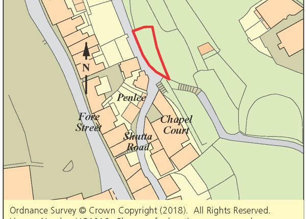 Land for sale in Land Off Shutta Road, Looe, Cornwall