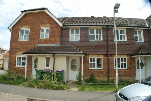 Thumbnail Terraced house to rent in Grice Close, Hawkinge, Folkestone