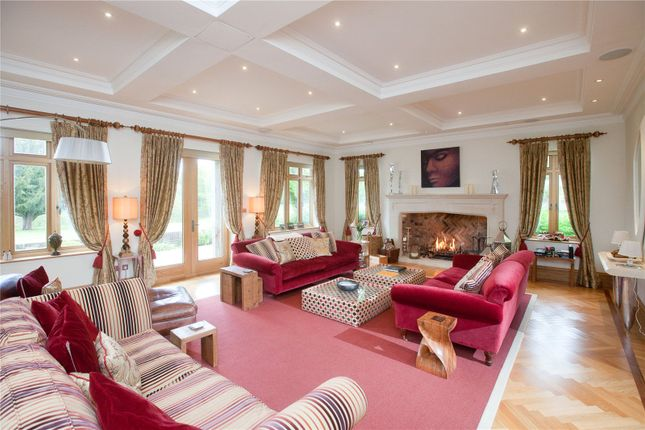 Drawing Room of Rockford Common, Ringwood, Hampshire BH24