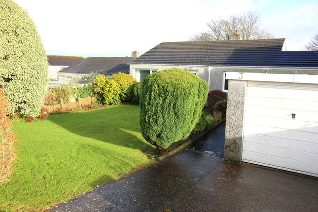 Thumbnail Detached bungalow for sale in Uplands, Saltash