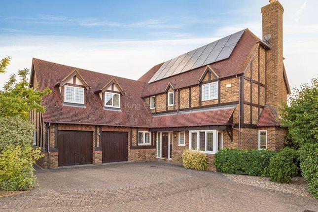 Thumbnail Detached house for sale in Allerford Court, Furzton, Milton Keynes, Buckinhamshire