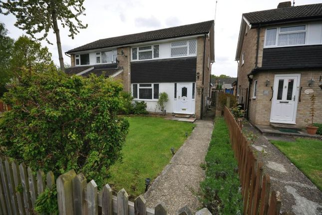 3 bed semi-detached house for sale in Kingfisher Drive, Woodley, Reading