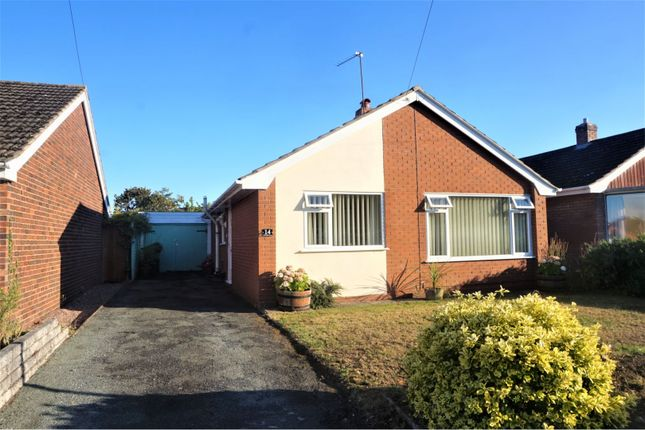 Thumbnail Detached bungalow for sale in Foxleigh Grove, Wem, Shrewsbury