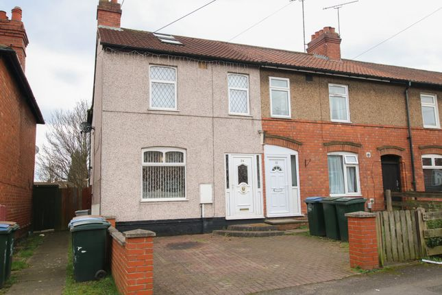 Thumbnail 3 bed end terrace house to rent in Brightmere Road, Coventry