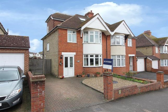 Thumbnail Semi-detached house for sale in Dolphins Road, Folkestone, Kent