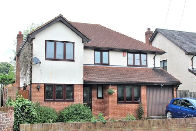 Thumbnail Detached house for sale in Leaden Roding, Dunmow, Essex