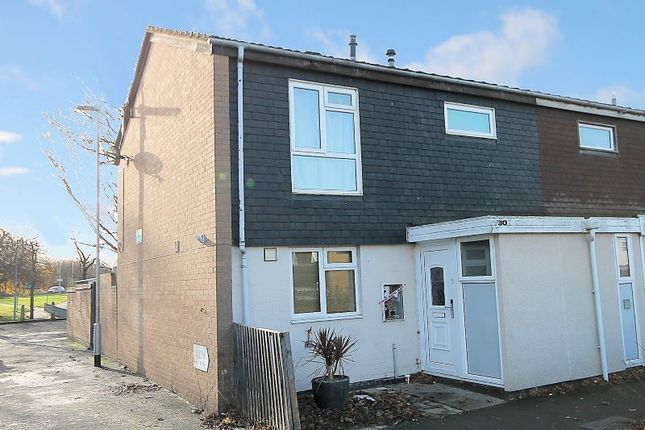 End terrace house in   Medway  Tamworth  Staffordshire  Birmingham