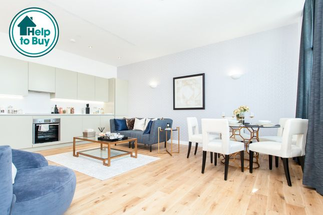 Thumbnail Flat for sale in Western Avenue, Perivale, Greater London