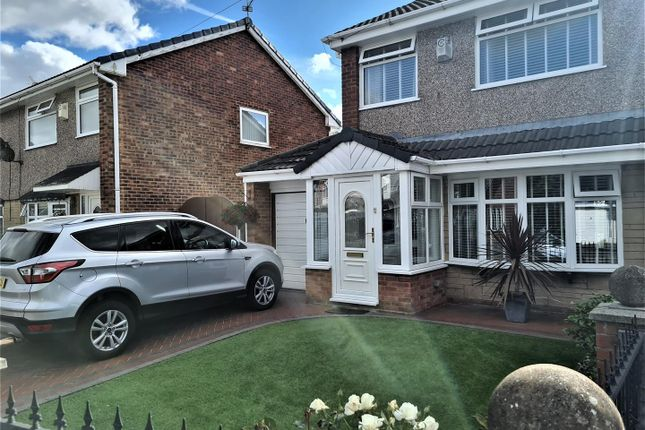 Thumbnail Semi-detached house for sale in Gray Avenue, Haydock, St. Helens