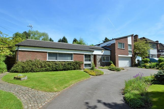 Thumbnail Detached house for sale in The Fairway, Oadby